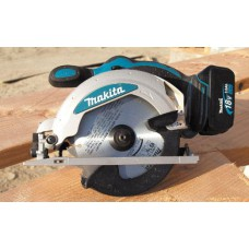 Cordless Circular Saw 18V Makita DSS610 +2 Bat & Charger