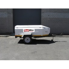 Trailer Baggage with Lid